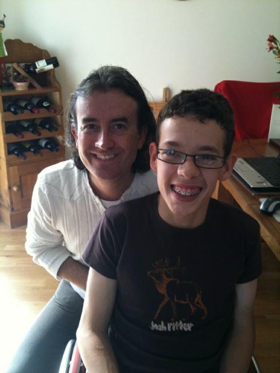 Me and David Watkins